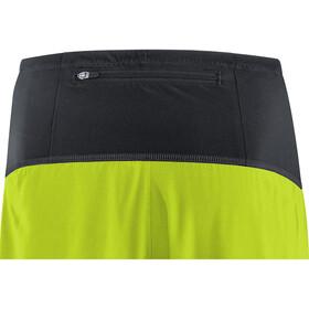GORE WEAR R7 2en1 Shorts Hombre, dark nordic blue/citrus green